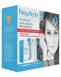 Nourkrin Woman 180 Tablets,Shampoo + Conditioner