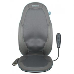 HoMedics Gel Shiatsu Back Massager with Heat + Remote